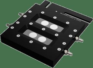 FC 270 Aluminum Dual Channel Coupon Evaluation Flow Cell