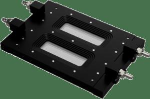 FC 284 Aluminum Dual Channel Transmission Flow Cell