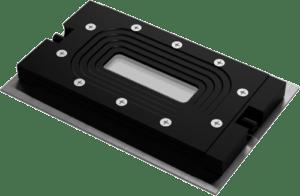 FC 81 Aluminum Single Channel Transmission Flow Cell